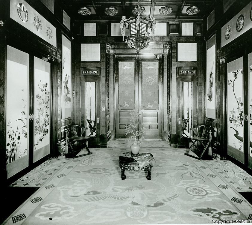 1918 The Bernheimer Estate. Now the Yamashiro