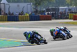 May 20, 2018 - Le Mans, France - 10 DENNIS FOGGIA (ITA) SKY RACING TEAM VR46 (ITA) KTM RC250GP (Credit Image: © Panoramic via ZUMA Press)