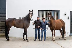 D'Hoore Paul, Baekelandt Christel, BEL<br /> Stal D'Hoore - Ruiselede 2021<br /> © Hippo Foto - Dirk Caremans<br /> 22/03/2021