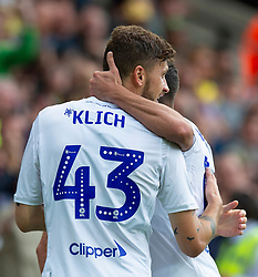 Mateusz Klich during the Sky Bet Championship match at Carrow Road, Norwich.