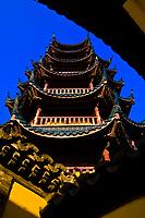 Pagoda, Jinshan Temple, Jinshan Park, Zhenjiang, China