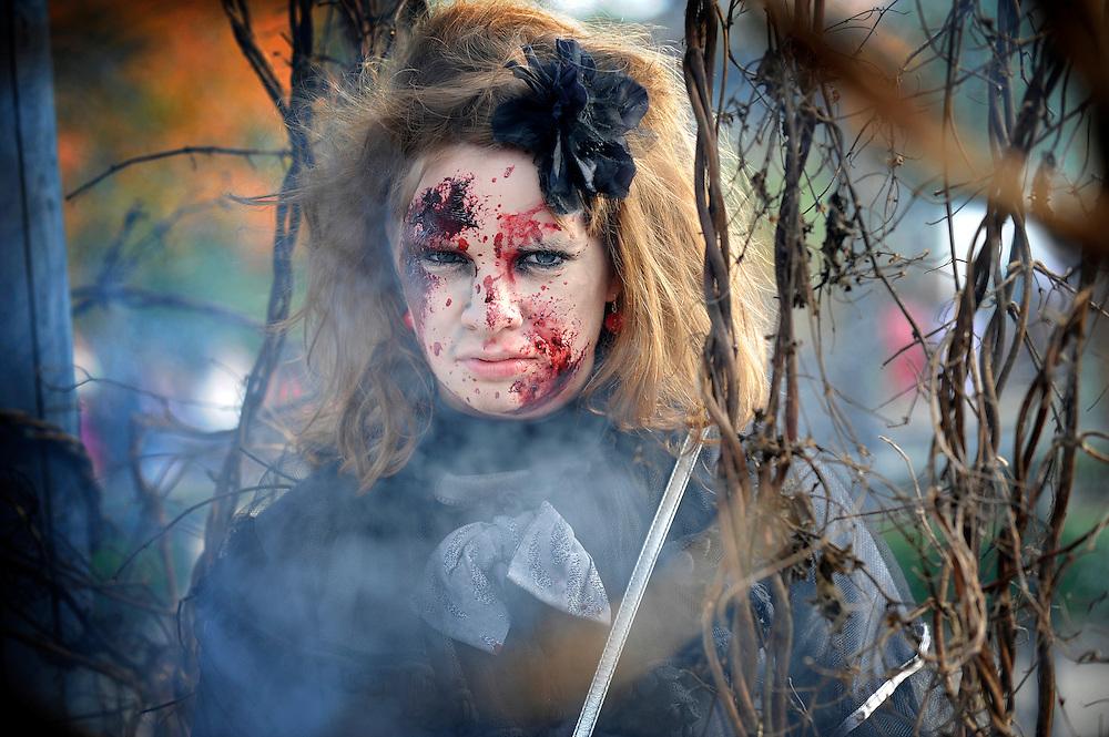 20111101 - Wavre , Belgium -  Opening of  the Halloween season with Marva vs The Zobies. © Walibi / Scorpix.