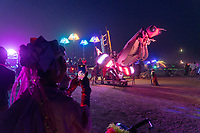 Bitsy The Praying Mantis Puppet at the legendary Altitude Lounge - https://Duncan.co/Burning-Man-2021
