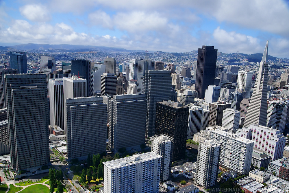 Downtown San Francisco (Aerial)