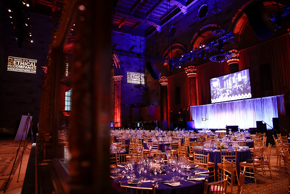 World Most Ethical Companies Gala 2017 with Ethisphere at Cipriani's Midtown on March 14, 2017 in New York City.