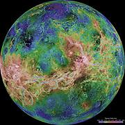 Planet Venus from NASA, Magellan Program