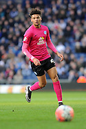Peterborough's Lee Angol in action. The Emirates FA Cup, 4th round match, West Bromwich Albion v Peterborough Utd at the Hawthorns stadium in West Bromwich, Midlands on Saturday 30th January 2016. pic by Carl Robertson, Andrew Orchard sports photography.