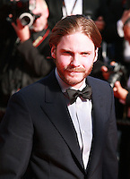 Daniel Bruehl at the Palme d'Or  Closing Awards Ceremony red carpet at the 67th Cannes Film Festival France. Saturday 24th May 2014 in Cannes Film Festival, France.