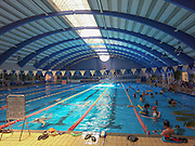 Indoor Olympic sized swimming pool at the Technion, Haifa, Israel