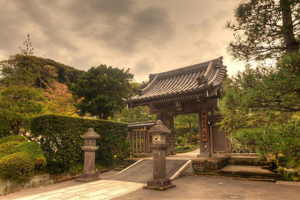 Kenchoji temple in Kamakura, Kanagawa Prefecture, Greater Tokyo Area, Japan