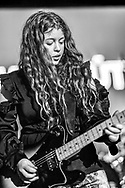 Alexandra Baldursdóttir of Icelandic indie-rock band Mammút at Iceland Airwaves
