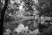 Maidenhead, Berkshire, United Kingdom, Monday, 04/10/2021, General View,Back Water Cut, Old Freebody Workshop, Ray Mill Island,  River Thames, Thames Valley, [Mandatory Credit; Pete Spurrier],