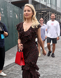September 14, 2018 - New York City, New York, USA - 9/12/18.Dianna Agron is seen attending the Michael Kors Fashion Show during New York Fashion Week in New York City..(NYC) (Credit Image: © Starmax/Newscom via ZUMA Press)