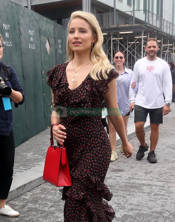 September 14, 2018 - New York City, New York, USA - 9/12/18.Dianna Agron is seen attending the Michael Kors Fashion Show during New York Fashion Week in New York City..(NYC) (Credit Image: © Starmax/Newscom via ZUMA Press)