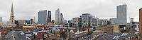 panoramic view of City of London skyline