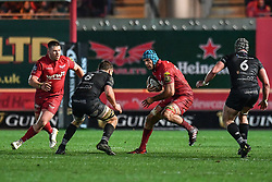 Scarlets' Tadhg Beirne in action during todays match - Mandatory by-line: Craig Thomas/Replay images - 26/12/2017 - RUGBY - Parc y Scarlets - Llanelli, Wales - Scarlets v Ospreys - Guinness Pro 14