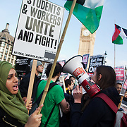 Free Education Now demonstration 2014