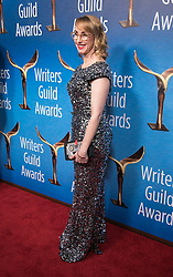 February 17, 2019 - Beverly Hills, California, U.S - Kira Snyder in the red carpet of the 2019 Writers Guild Awards at the Beverly Hilton Hotel on Sunday February 17, 2019 in Beverly Hills, California. JAVIER ROJAS/PI (Credit Image: © Prensa Internacional via ZUMA Wire)