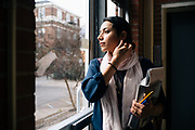 STARKVILLE, MS – FEBRUARY 1, 2017: Kimia Mortezaei completed her PhD in engineering in December 2016, and lost a job offer because of the executive order restriction.<br /> CREDIT: Bob Miller for The New York Times