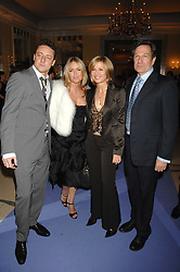 Left to right, PATSY KENSIT and JEREMY HEALY and Actor MICHAEL BRANDON his wife actress GLYNIS BARBER at the 10th Anniversary Party of the Lavender Trust, Breast Cancer charity held at Claridge's, Brook Street, London on 1st May 2008.<br /><br />NON EXCLUSIVE - WORLD RIGHTS