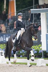Verreet Katrien, BEL, Bailamos Biolley<br /> World Championship Young Dressage Horses <br /> Ermelo 2016<br /> © Hippo Foto - Leanjo De Koster<br /> 30/07/16