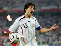 Michael Ballack Deutschland<br /> Fussball WM 2006 Deutschland - Polen<br /> Tyskland - Polen<br /> Norway only