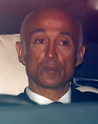 © Licensed to London News Pictures. 29/03/2017. London, UK. ANDREW RIDGELEY, former member of the pop group WHAM!, leaves the service. The funeral of pop singer George Michael takes place at Highgate Cemetery in north London. George Michael died unexpectedly at his home in North London in what a coroner ruled to be natural circumstances. Photo credit: Ben Cawthra/LNP