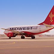 Midwest plane in Sharm El Sheikh, Egypt