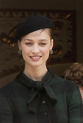 November 19, 2019, Monaco, Monaco: 19-11-2019 Monte Carlo Beatrice Borromeo during the Monaco national day celebrations in Monaco. (Credit Image: © face to face via ZUMA Press)