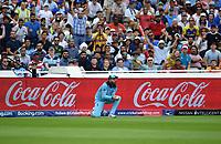 Cricket - 2019 ICC Cricket World Cup - Semi-Final: England vs. Australia<br /> <br /> England's substitute James Vince catches Australia's Alex Carey off the bowling of Adil Rashid for 46 , at Edgbaston, Birmingham.<br /> <br /> COLORSPORT/ASHLEY WESTERN