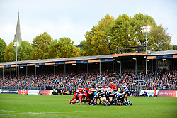 Bath Rugby play Worcester Warriors at the Recreation Ground - Mandatory by-line: Dougie Allward/JMP - 07/10/2017 - RUGBY - Recreation Ground - Bath, England - Bath Rugby v Worcester Warriors - Aviva Premiership
