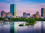 """Boston and  the Charles River as seen from Longfellow Bridge.  Boston is the capital of and largest city in Massachusetts, and is one of the oldest cities in the United States. The largest city in New England, Boston is regarded as the unofficial """"Capital of New England"""" for its economic and cultural impact on the entire New England region. The city proper, covering only 48.43 square miles, had a population of 617,594 according to the 2010 U.S. Census. Boston is also the anchor of a substantially larger metropolitan area called Greater Boston, home to 4.5 million people and the tenth-largest metropolitan area in the country. Greater Boston as a commuting region is home to 7.6 million people, making it the fifth-largest Combined Statistical Area in the United States."""