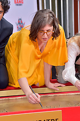 May 1, 2019 - Los Angeles, Kalifornien, USA - Mayim Bialik bei der Handprints Ceremony am TCL Chinese Theatre Hollywood. Los Angeles, 01.05.2019 (Credit Image: © Future-Image via ZUMA Press)