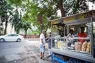 Vegetarian Street Food in Mumbai, India