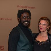 NLD/Amsterdam/20200221 - Premiere Dangerous Liaisons, Andre Dongelmans en Tamara Brinkman