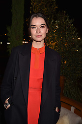 Margaret Clunie at the launch of Fiume at Battersea Power Station, Battersea, London England. 16 November 2017.<br /> Photo by Dominic O'Neill/SilverHub 0203 174 1069 sales@silverhubmedia.com