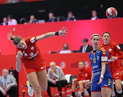 KOLDING, DENMARK - DECEMBER 5: Aleksandra Zych during the EHF Euro 2020 Group D match between Poland and Romania in Sydbank Arena, Kolding, Denmark on December 5, 2020. Photo Credit: Allan Jensen/EVENTMEDIA.