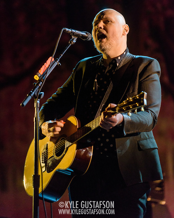Billy Corgan of the Smashing Pumpkins performs at the Lincoln Theatre in Washington, D.C. (Photo by Kyle Gustafson)