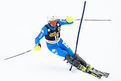 THALER Patrick of Italy during the 2nd Run of Men's Slalom - Pokal Vitranc 2013 of FIS Alpine Ski World Cup 2012/2013, on March 10, 2013 in Vitranc, Kranjska Gora, Slovenia.  (Photo By Matic Klansek Velej / Sportida.com)