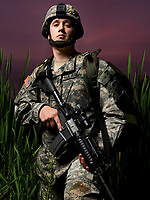 www.shawnrocco.com<br /> www.cellularobscura.com<br /> 919-812-8291<br /> shawnrocco@gmail.com<br /> <br /> U.S. Army SPC Garrett Rhynalds, of Charlie Company, 1st Battalion, 325th Airborne Infantry Regiment.