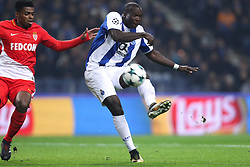December 6, 2017 - Porto, Porto, Portugal - Porto's Cameroonian forward Vincent Aboubakar in action during the UEFA Champions League Group G match between FC Porto and AS Monaco FC at Dragao Stadium on December 6, 2017 in Porto, Portugal. (Credit Image: © Dpi/NurPhoto via ZUMA Press)