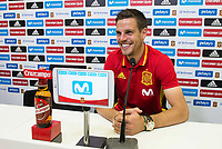 Cesar Azpilicueta during press conference at city of football of Las Rozas in Madrid, June 04, 2017. Spain.<br /> (ALTERPHOTOS/BorjaB.Hojas)