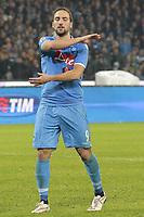 Gonzalo Higuain Napoli,  <br /> Napoli 11-01-2015 Stadio San Paolo <br /> Football Calcio Serie A Napoli - Juventus FC<br /> Foto Cesare Purini / Insidefoto