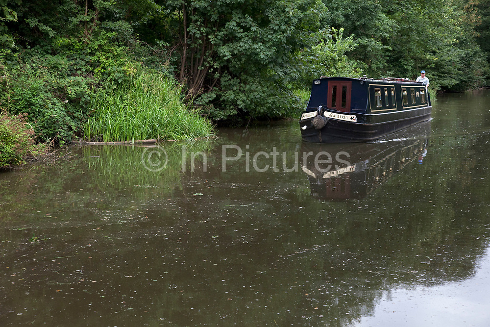 The Grand Union Canal at Hatton in Warwickshire.