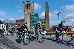 Drops Cycling making their debut at Le Samyn des Dames - Le Samyn des Dames 2016, a 113km road race from Quaregnon to Dour, on March 2, 2016 in Hainaut, Belgium.