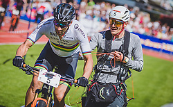 08.09.2018, Lienz, AUT, 31. Red Bull Dolomitenmann 2018, im Bild Lakata Alban (AUT, Red Bull), Rifesser Lukas (AUT, Red Bull) // Lakata Alban (AUT, Red Bull), Rifesser Lukas (AUT, Red Bull) during the 31th Red Bull Dolomitenmann. Lienz, Austria on 2018/09/08, EXPA Pictures © 2018, PhotoCredit: EXPA/ JFK