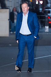 London, January 28 2018. Piers Morgan attends the Andrew Marr Show at the BBC's New Broadcasting House in London.. © Paul Davey