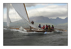 Day five of the Fife Regatta, Race from Portavadie on Loch Fyne to Largs. <br /> <br /> The Truant, Ross Ryan, GBR, Gaff Cutter 8mR, Wm Fife 3rd, 1910<br /> <br /> * The William Fife designed Yachts return to the birthplace of these historic yachts, the Scotland's pre-eminent yacht designer and builder for the 4th Fife Regatta on the Clyde 28th June–5th July 2013<br /> <br /> More information is available on the website: www.fiferegatta.com