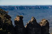 Echo Point Lookout ,Three Sisters, Blue Mountains, NSW, Australia.