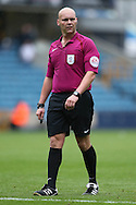 Referee Charles Breakspear looks on. EFL Skybet football league one match, Millwall v Bradford city at The Den in London on Saturday 3rd September 2016.<br /> pic by John Patrick Fletcher, Andrew Orchard sports photography.